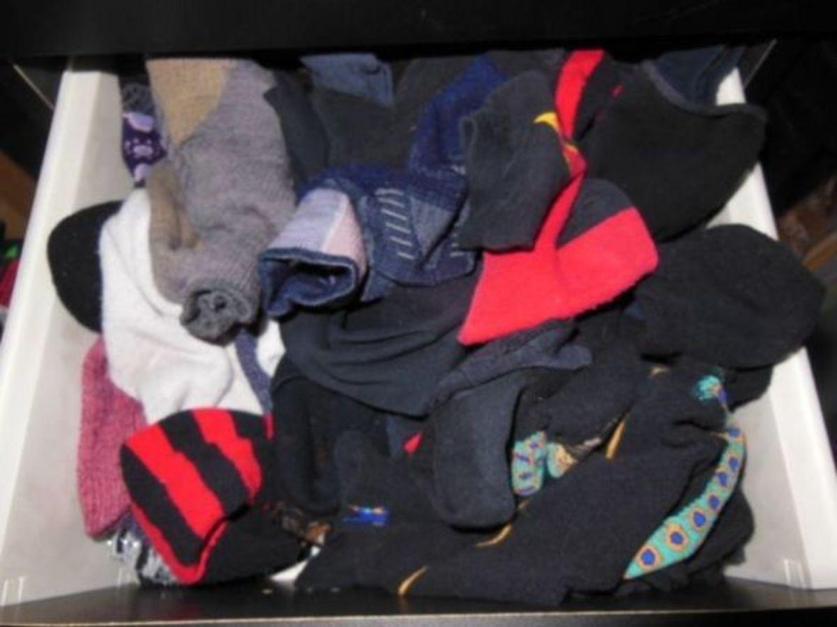 socks, photo by Relache