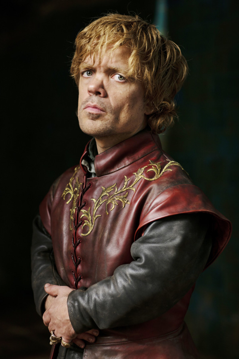 Dinklage as Tyrion Lannister