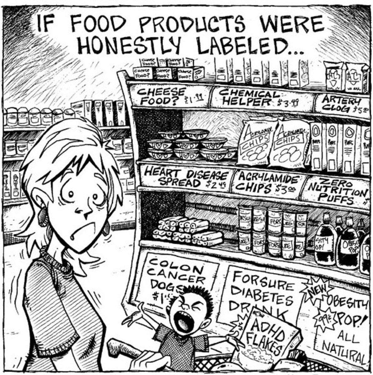 Misleading Food Labels: Read Them Carefully