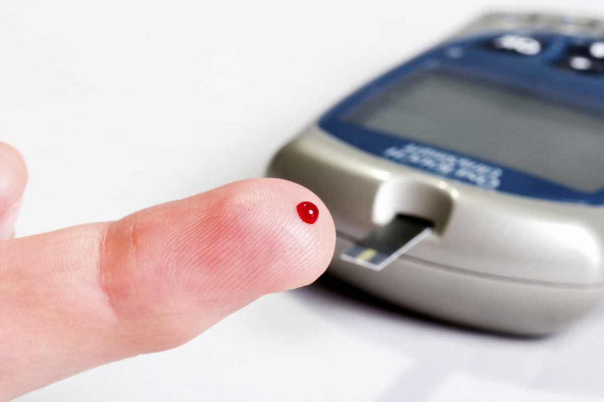 A typical glucose meter. How does this work?