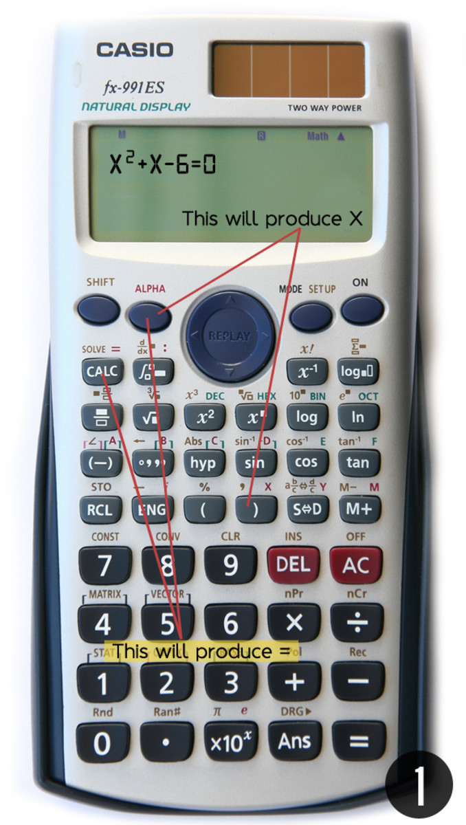 Step 1: How to Input the Equation in Your Calculator