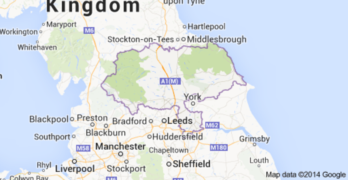 North Yorkshire and the east coast