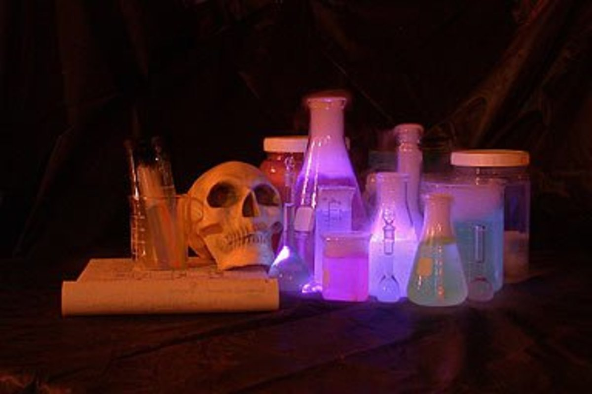 The mad scientist lab is a staple of haunted houses, but few go all out on it.