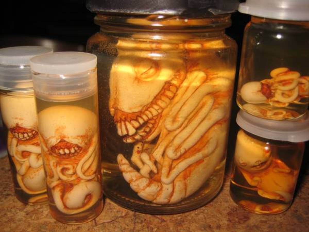 How you position your monster may be what makes or breaks your jar.