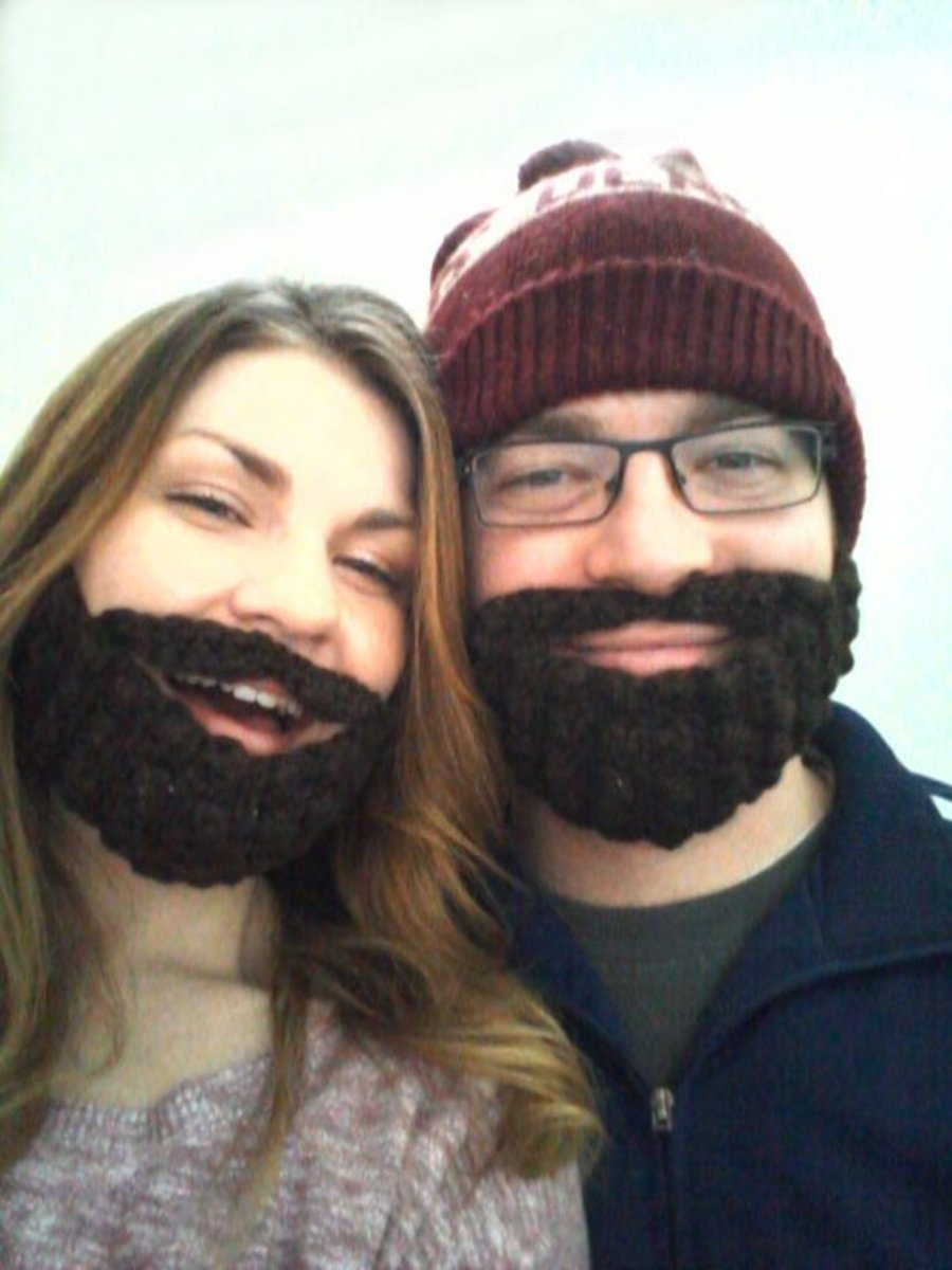 Free Crochet Pattern For Hat With Beard : Free Crochet Beard and Hat Patterns