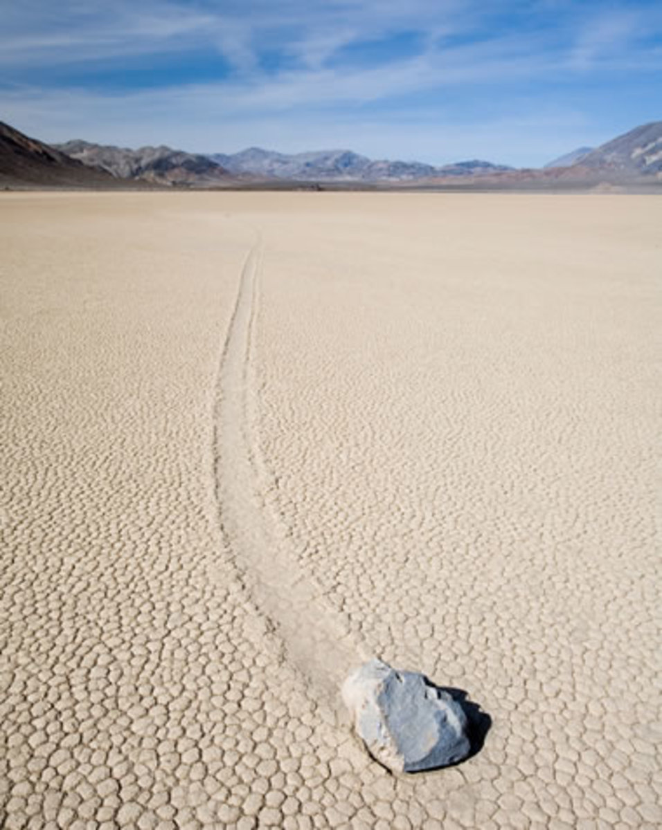 Interesting Facts about Moving Rocks in Death Valley California