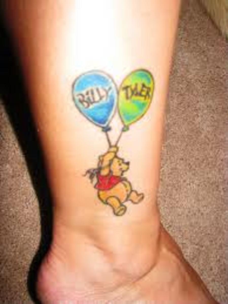 Winnie the pooh tattoos and designs winnie the pooh tattoo for Winnie the pooh tattoo