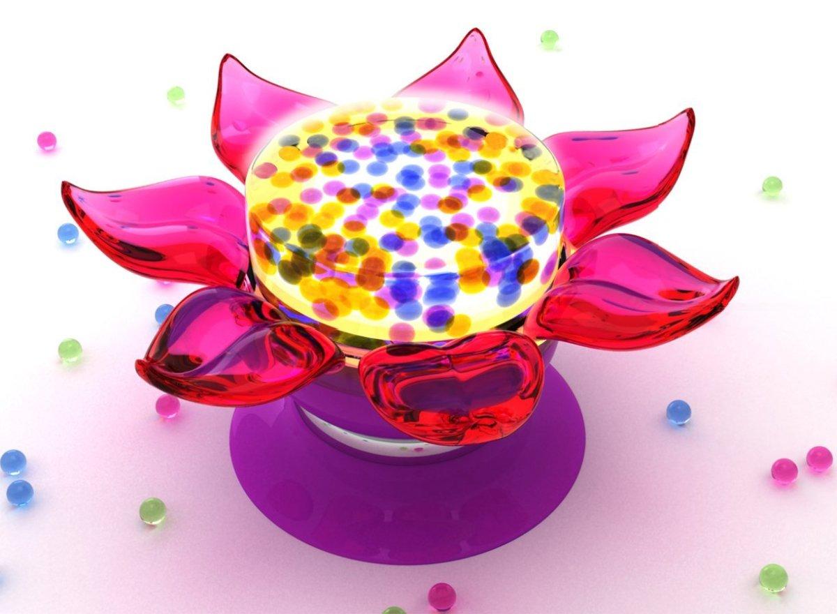 Orbeez Flower Power Lamp
