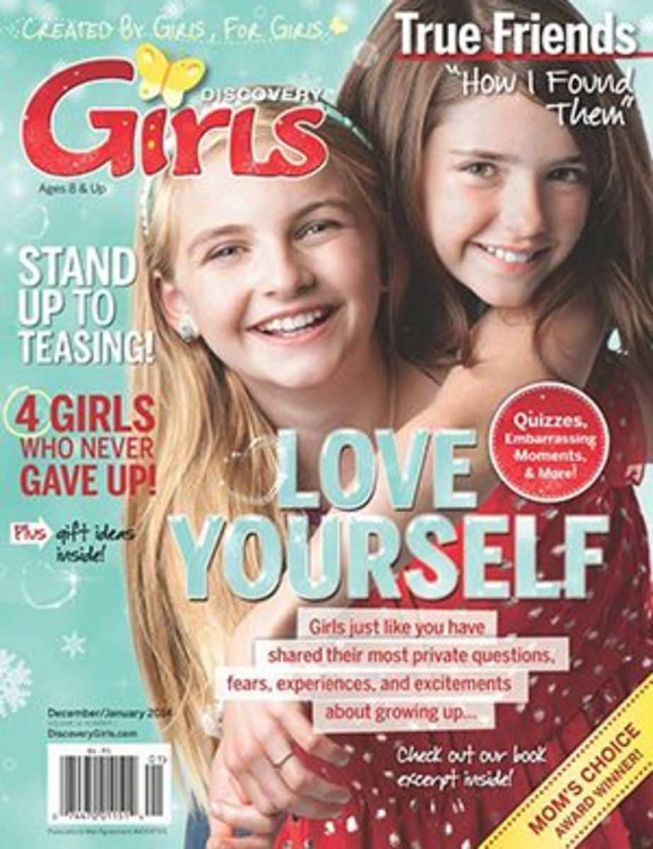 Discovery Girls Magazine For Tween Girls