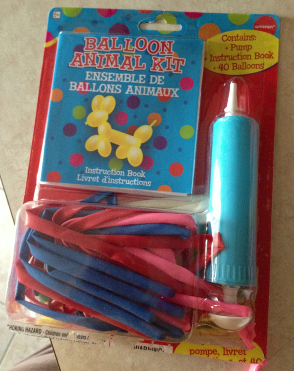 Kit for Making Balloon Animals