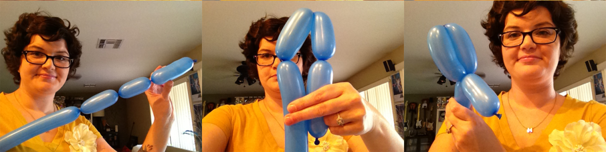 how to make balloon dog