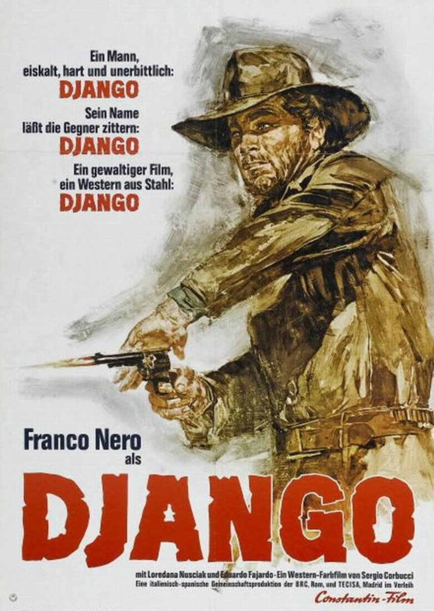 Django (1966) German poster