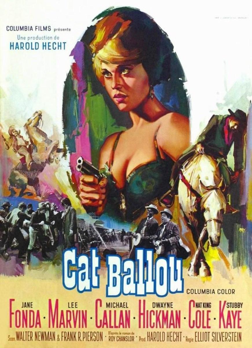 Cat Ballou (1965) Belgian poster