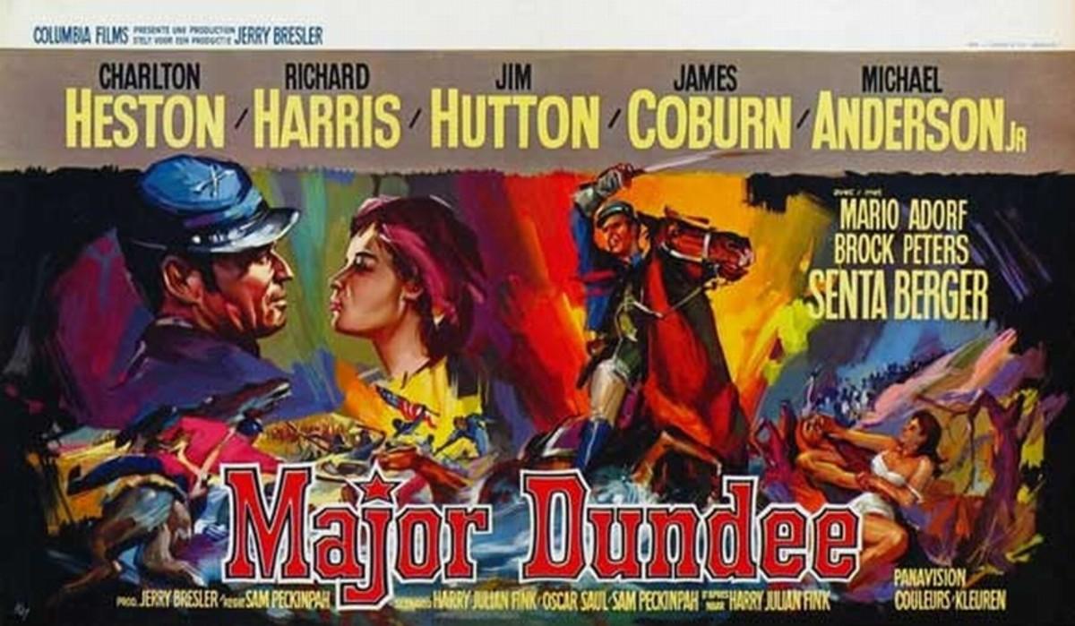 Major Dundee (1965) Belgian poster