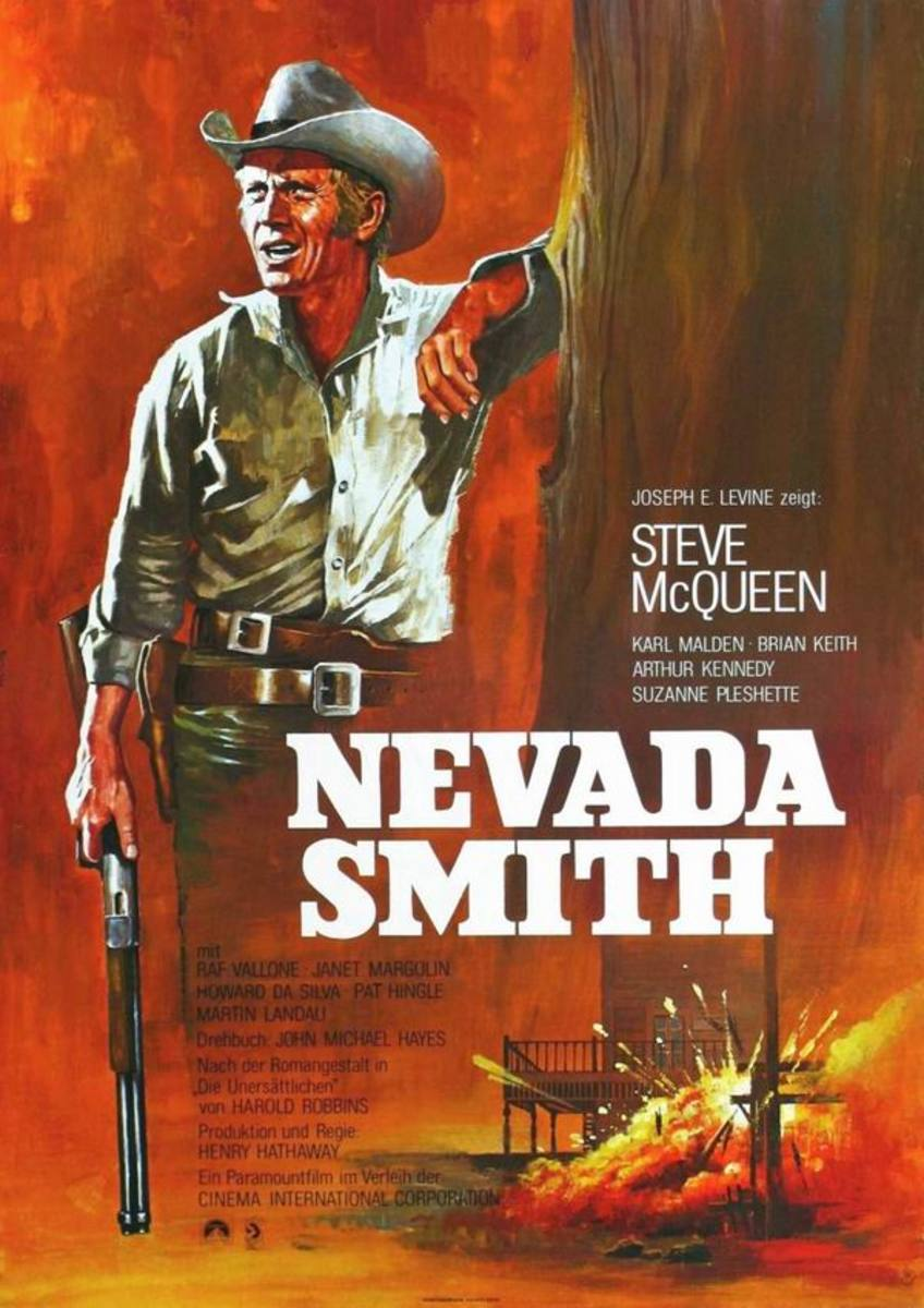 Nevada Smith (1966) German poster