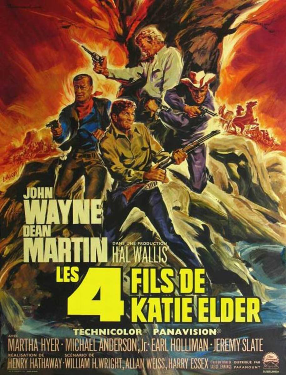 The Sons of Katie Elder (1965) French poster