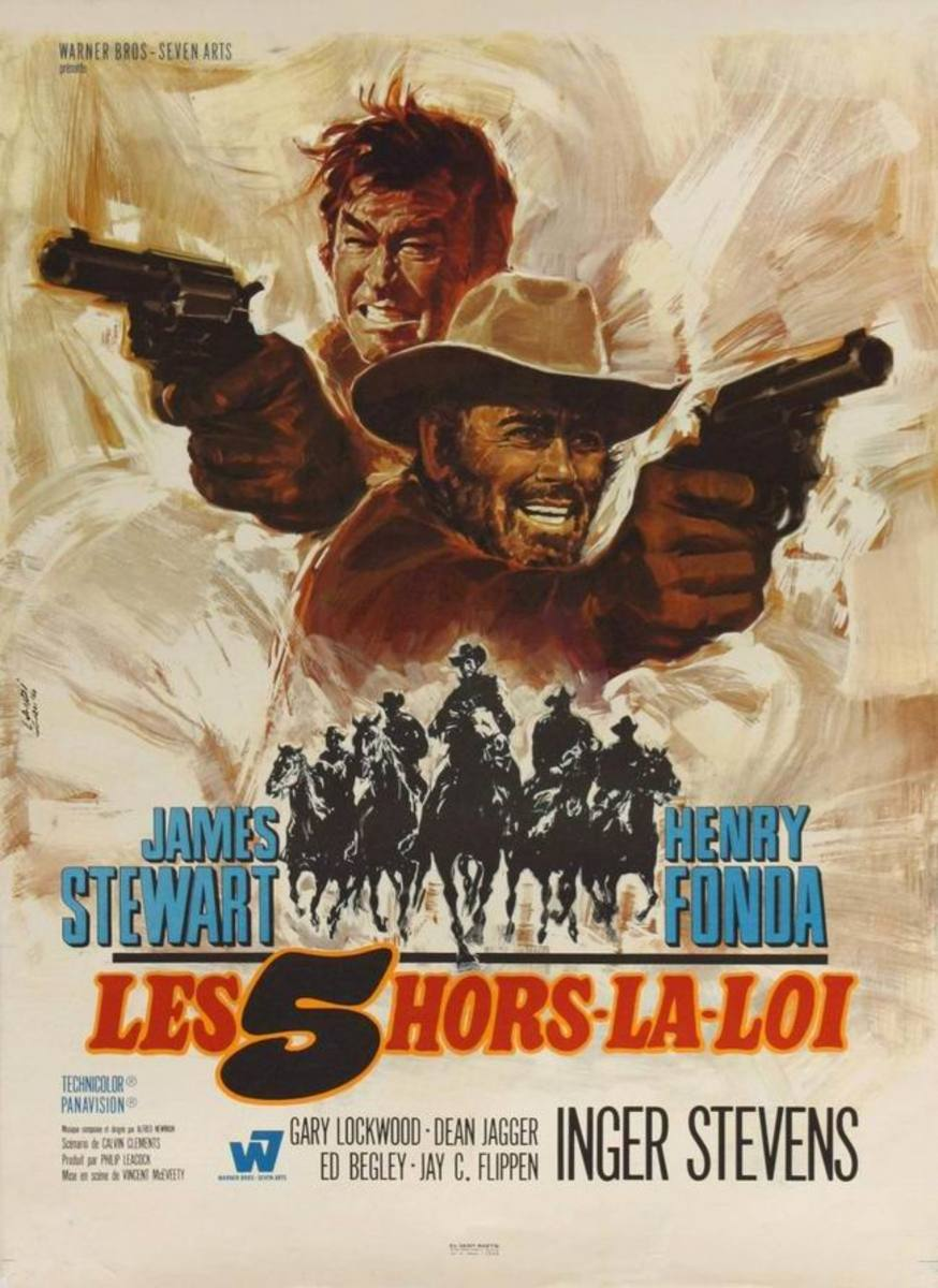 Firecreek (1967) French poster