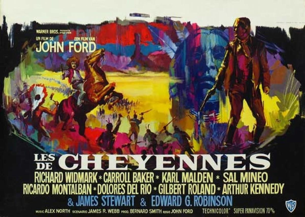 Cheyenne Autumn (1064) Belgian poster