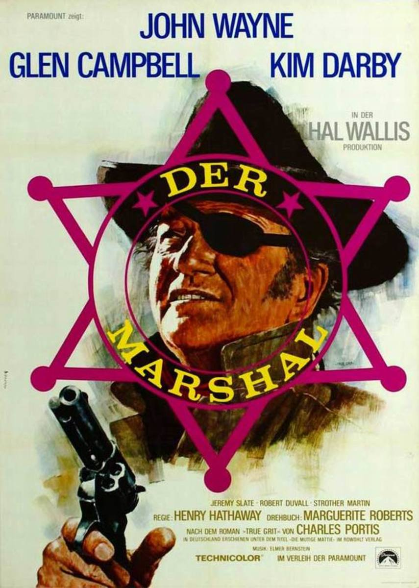 True Grit (1969) German poster
