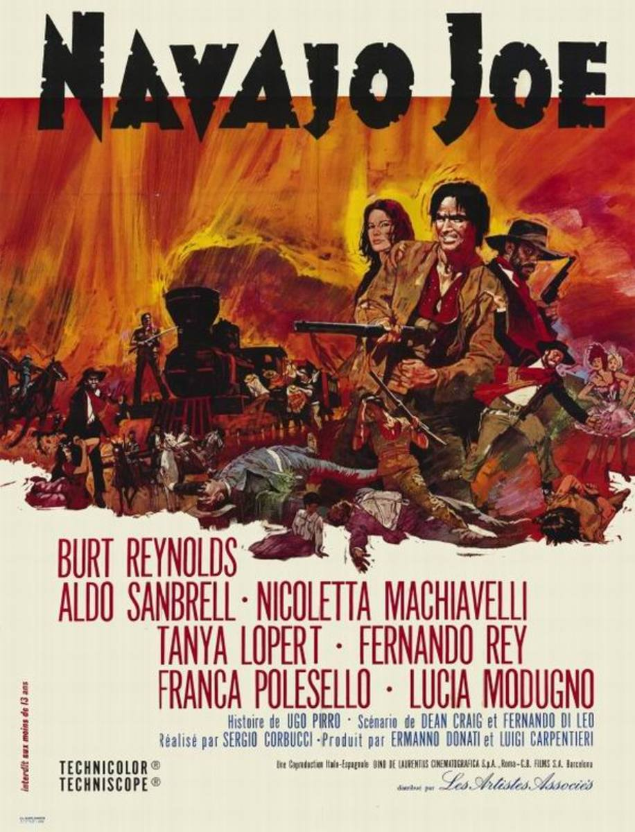 Navajo Joe (1966) French poster