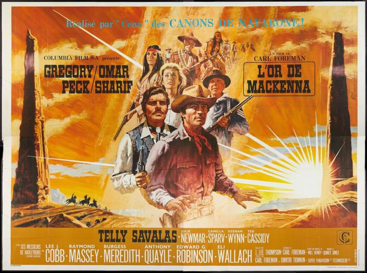 Mackenna's Gold (1969) French poster