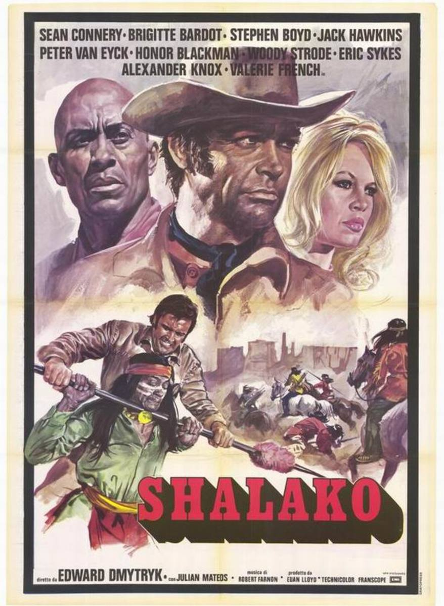 Shalako (1968) Italian poster