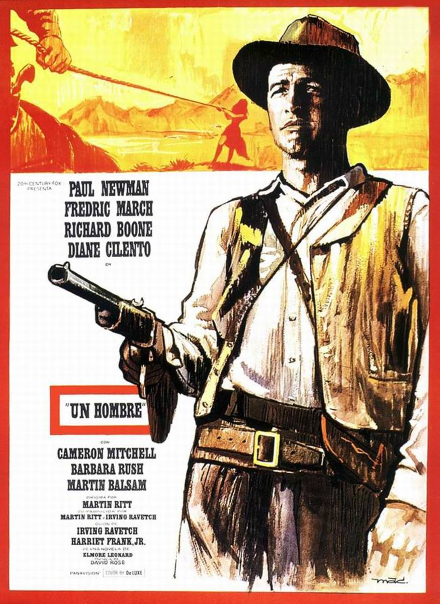 Hombre (1967) Spanish poster