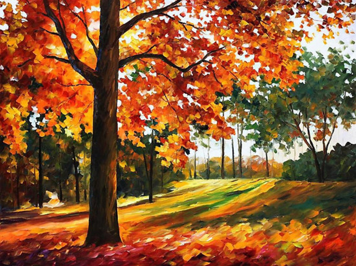 Autumn - Leonid Afremov