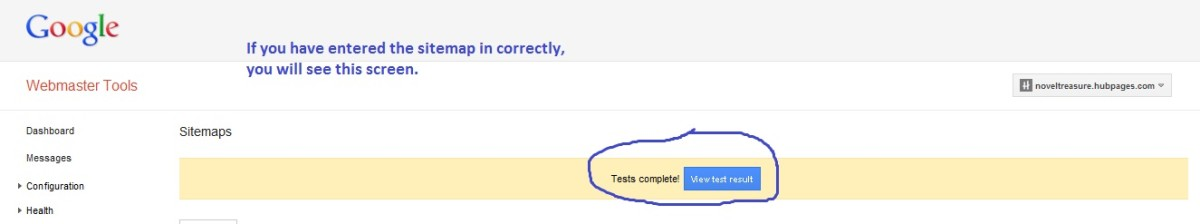 Sitemap test complete