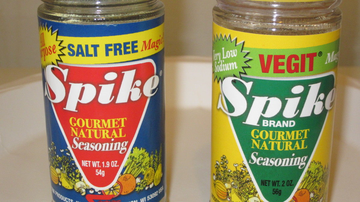 Spike Gourmet Natural Seasonings offers a variety of blends that include lower sodium, herb flavors, and all purpose seasonings.