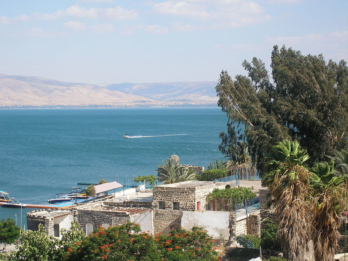 Sea of Galilee, Israel - Taken by Pacman. Here is where Peter and Andrew fished as well as James and John along with their father, Zebedee.