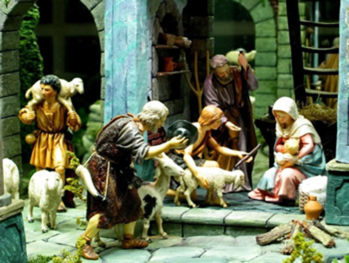 Nativity Wallpaper Scene