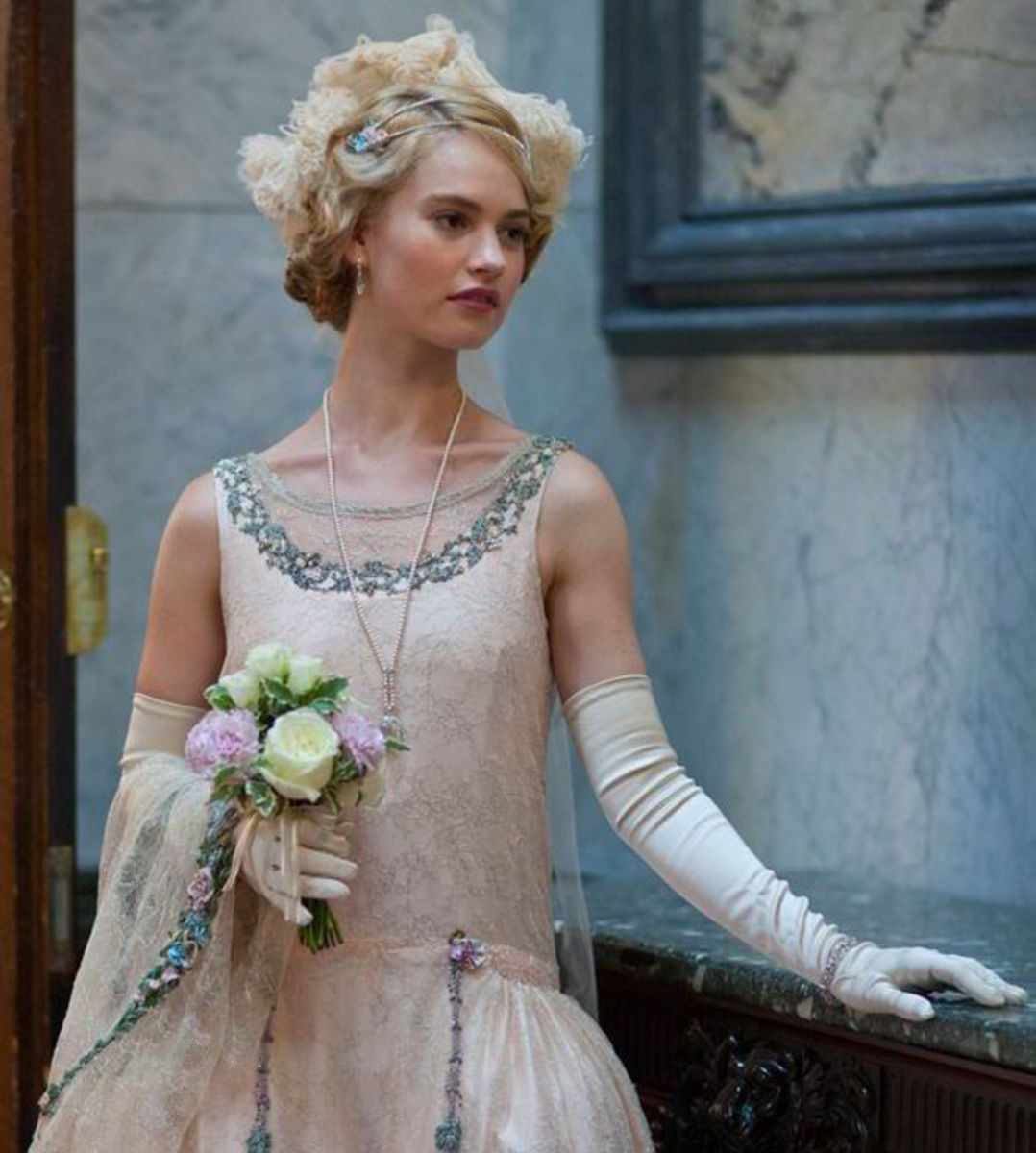 Lily James as Lady Rose McClare