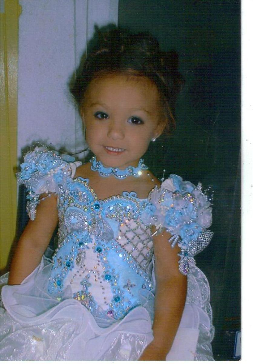 Lexi had several Glitz Pageant Dresses.