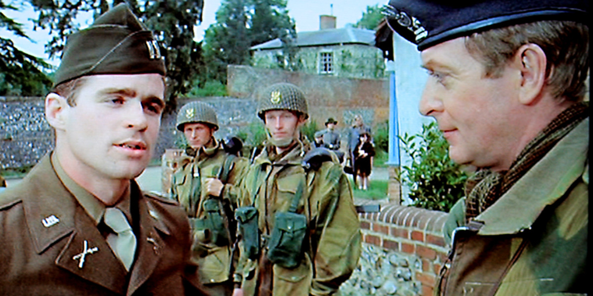 Steiner, posing as a British Colonel of the 'Polish' troops, is not best pleased when he discovers an unwelcome American presence near to the village where he has taken up residence