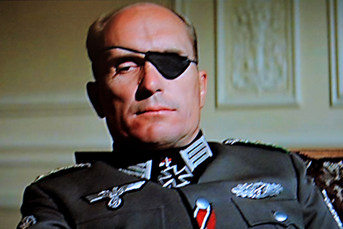 Robert Duvall as Colonel Radl, mastermind of the plan to attack Winston Churchill