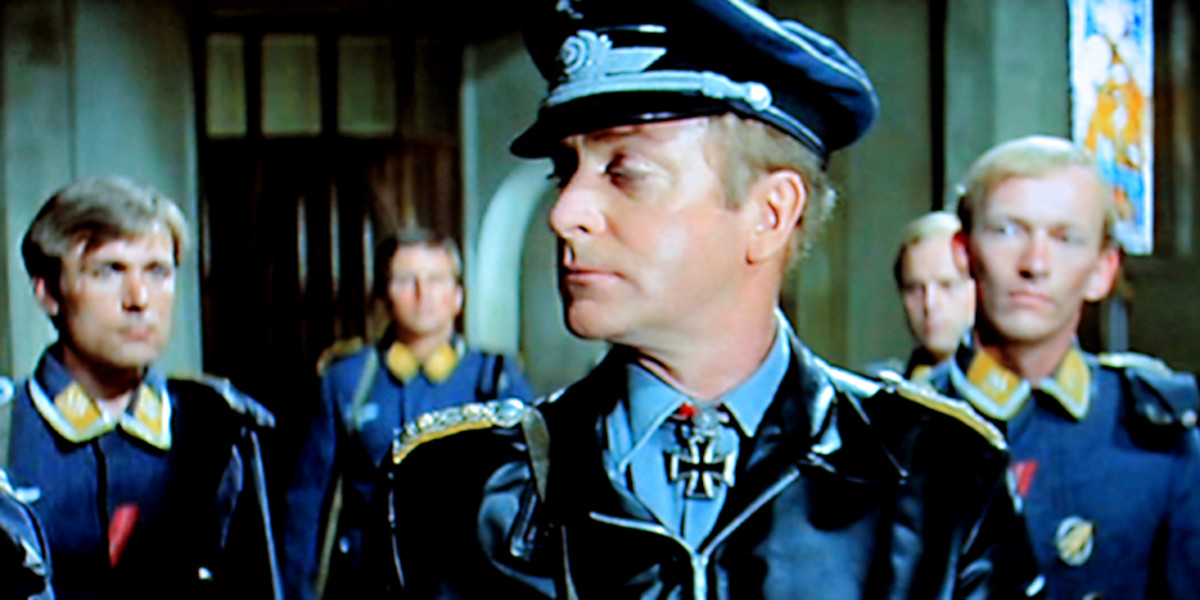 Colonel Steiner may not be the favourite of the Nazis, but he commands the loyalty of his men