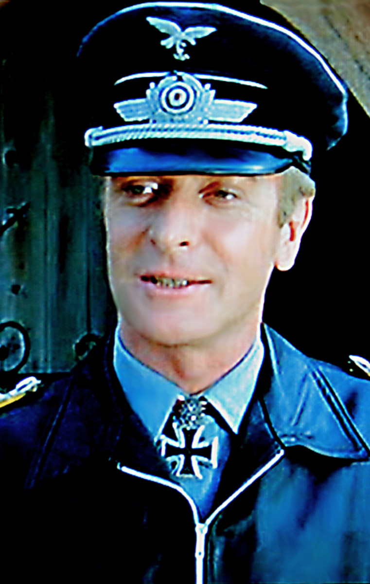 Michael Caine as Colonel Kurt Steiner