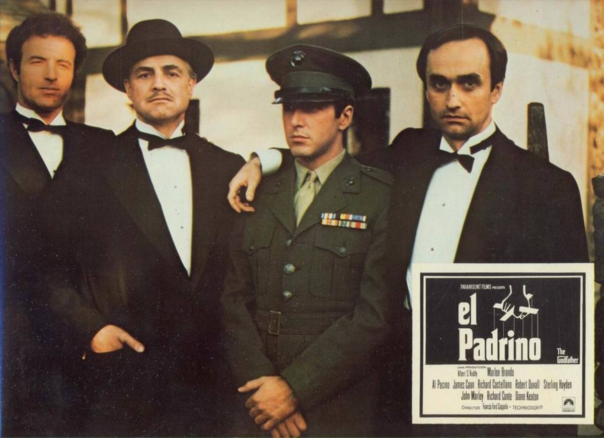 The Godfather (1972) Spanish lobby card