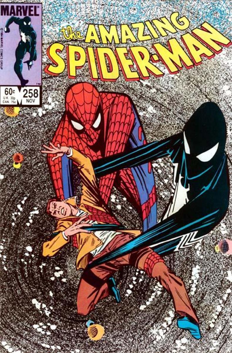 Amazing Spider-Man 258 Alien Symbiote Cover