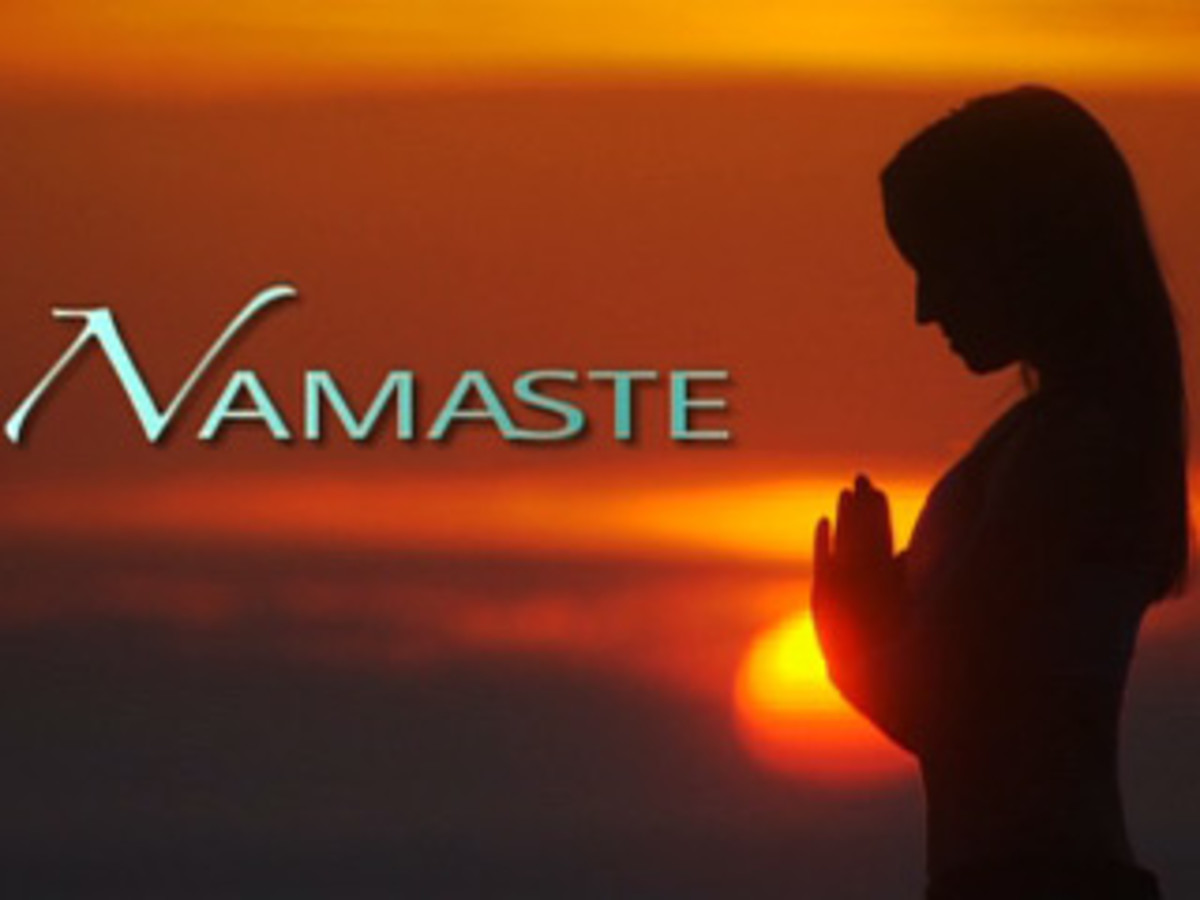 Namaste not just a greeting what does it really mean hubpages in the united states we greet each other very casually usually with a how are you and a handshake even in a formal or professional setting m4hsunfo