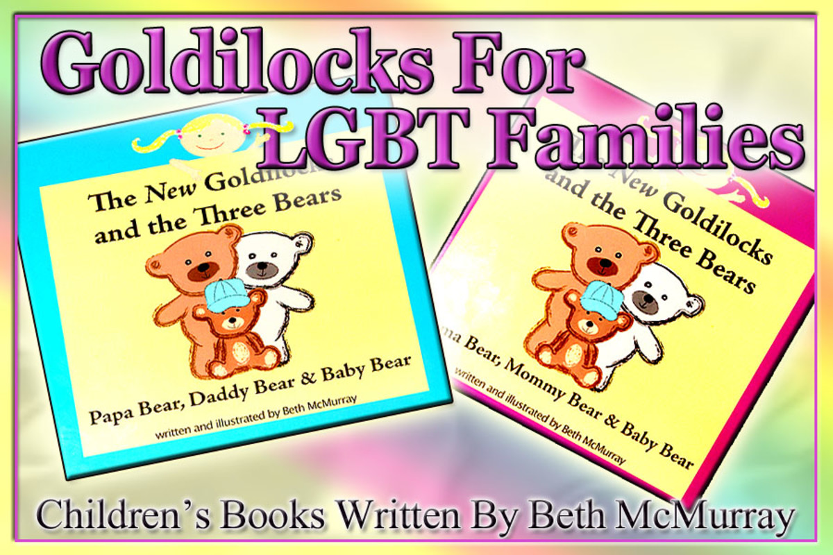 Beth McMurray provides a delightful spin on Goldilocks that is sure to be enjoyed by children of all family dynamics, but caters specifically to children of  LGBT parents. From storyline to illustrations, Beth creates a fun & cheerful children's book