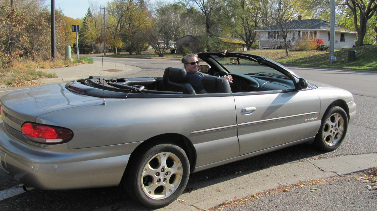 I got a Convertible for my 50th Birthday