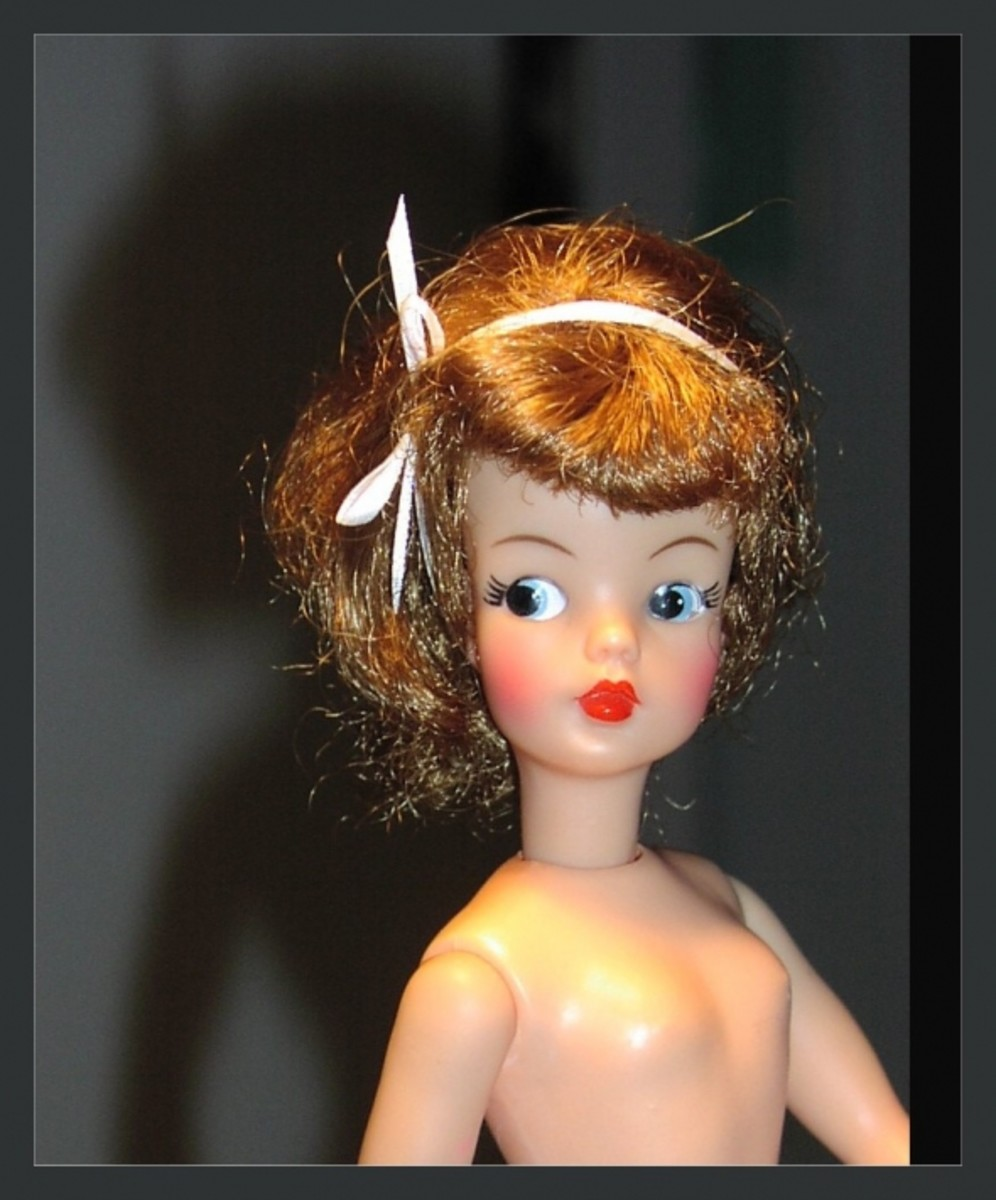 With the rubber band removed, Tammy's hair was styled for her greeting card  photo shoot.