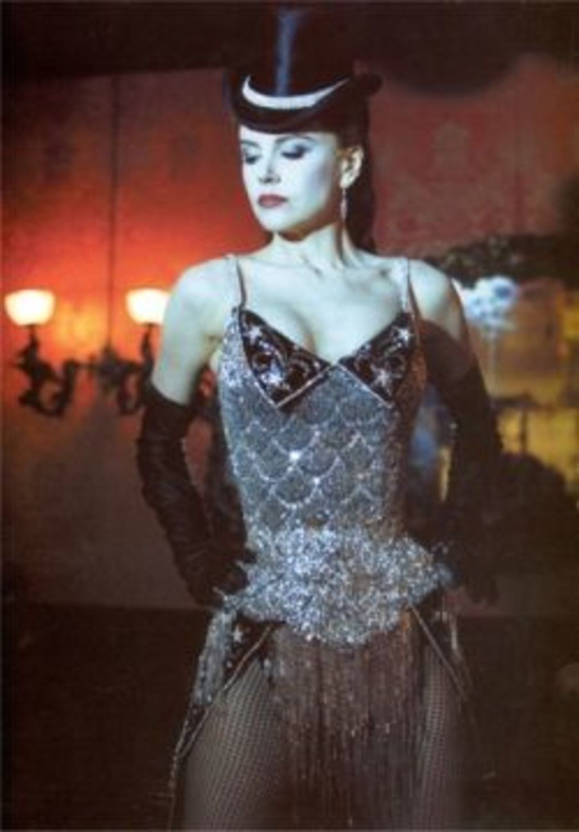 Nicole Kidman as Satine from Moulin Rouge