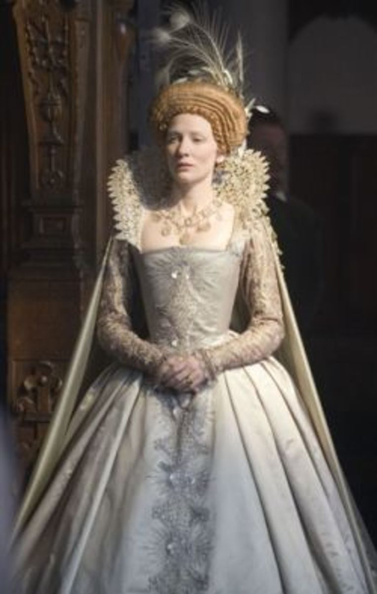 Cate Blanchett as Queen Elizabeth I from Elizabeth: The Golden Age