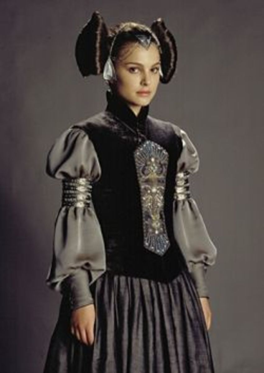 Natalie Portman as Padme Amidala from Star Wars Episode II
