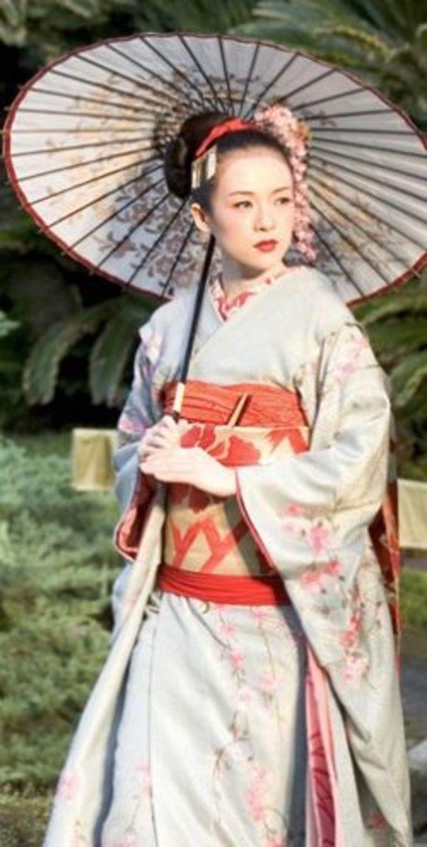 Ziyi Zhang as Sayuri from Memoirs of a Geisha