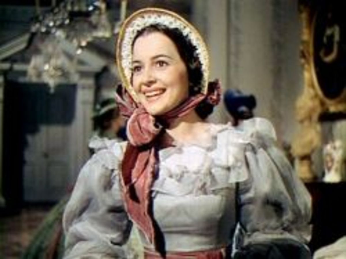 Olivia de Havilland as Melanie from Gone with the Wind