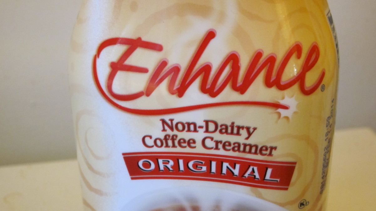 Save-A-Lot creamer for $1.99 is rich and smooth, blends well with coffee compared to Coffee Mate retailing at $2.49.